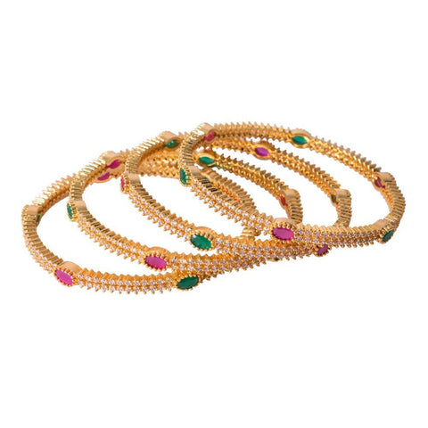 Beautiful kemp gold bangles