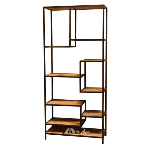 Staggered Shelf - Black