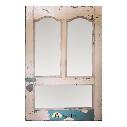 Vintage Window Frame Mirror