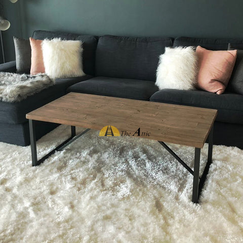 Skylar Industrial Reclaimed Pine Coffee Table