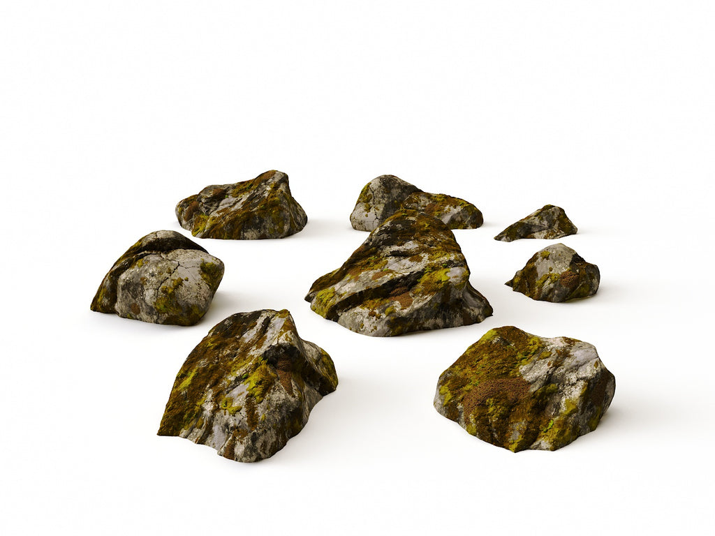 Mossy Rocks Set - Nouvelle Mesure Lab