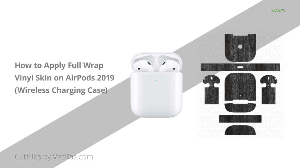 AirPods 2 Wireless Charging Case 3M Skin Application Tutorial