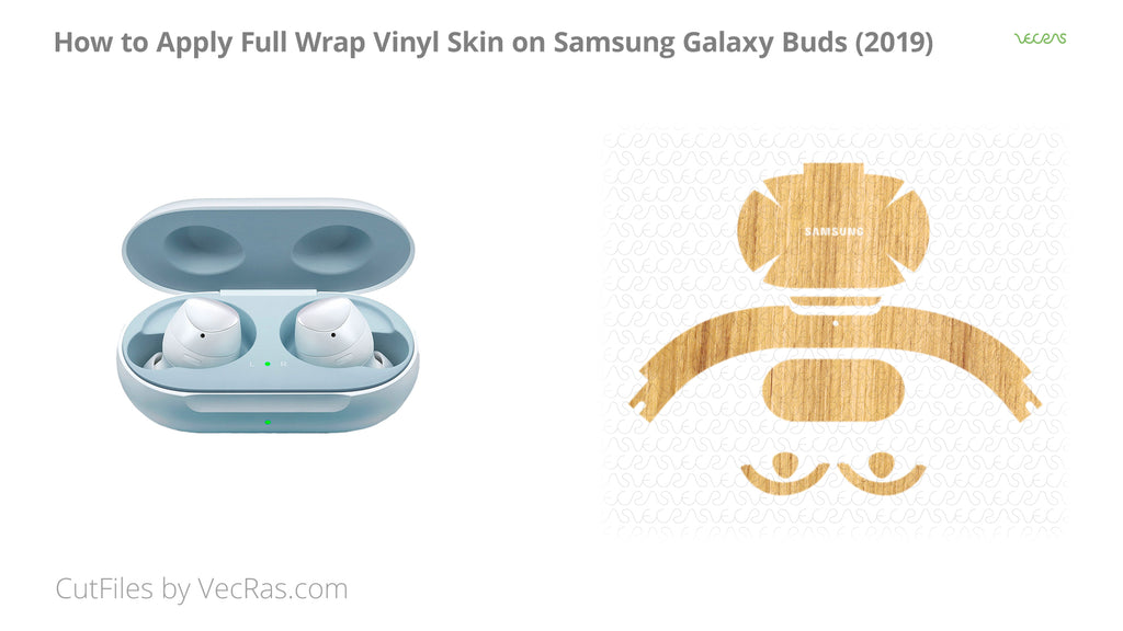 Samsung Galaxy Buds 3M Skin Application Tutorial
