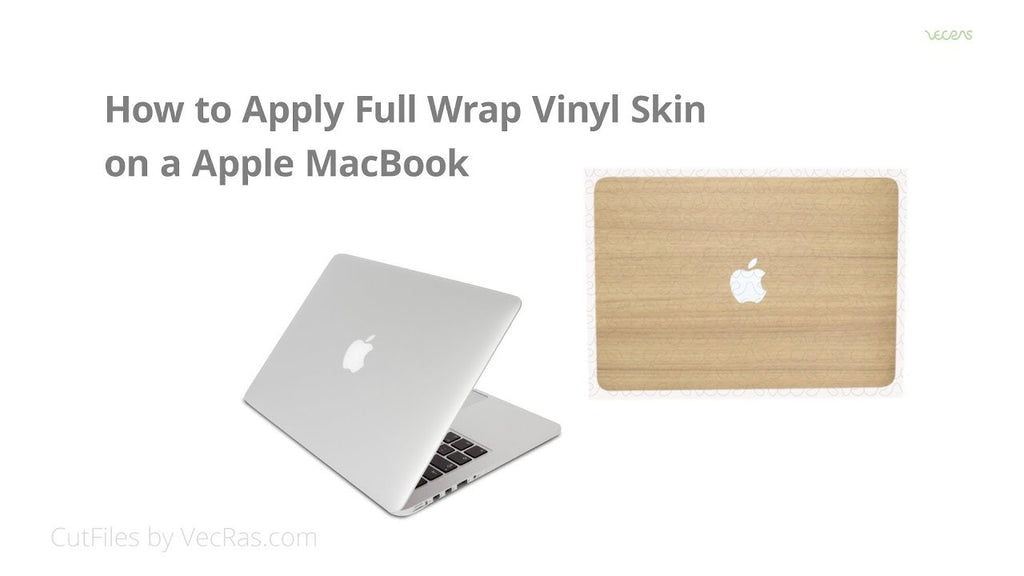 How to apply Full Wrap Vinyl Skin on a Apple MacBook Pro