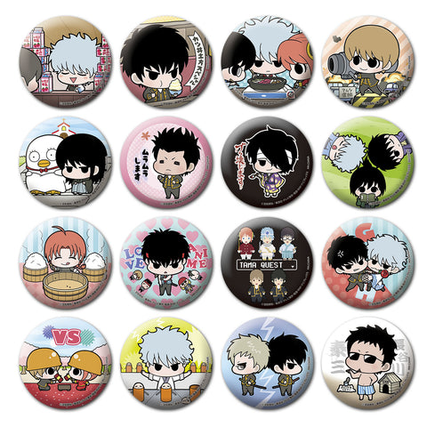 Tin Badge Collection: Gintama Famous Scenes Edition