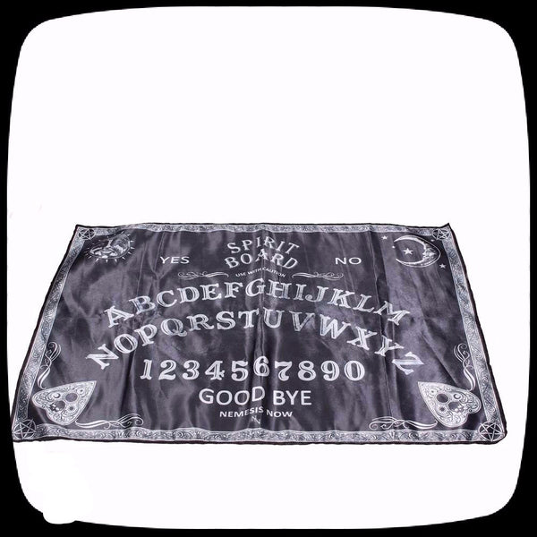spirit board ouija cloth alter cloth spirit board decor
