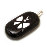 Illusionist Locket- Butterfly/Flower (Wenge)