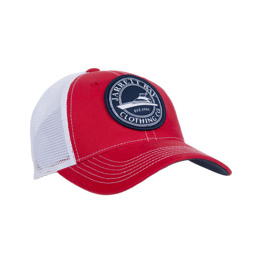 Circle Boat Patch - Trucker Hat