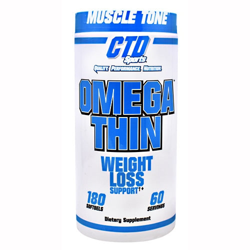 CTD Sports Omegathin - 180 Softgels - 094922401908