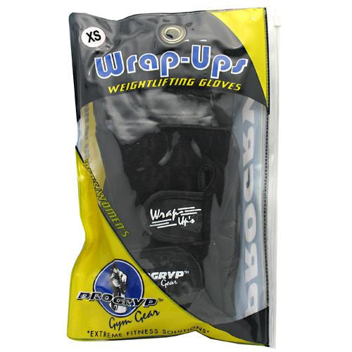 Progryp Wrap-Ups Weightlifting Gloves - X-Small - 1 Pair - 197409238889