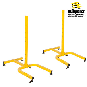 4-BOAT FREE-STANDING FRAME - ALSO AVAILABLE IN BLACK!