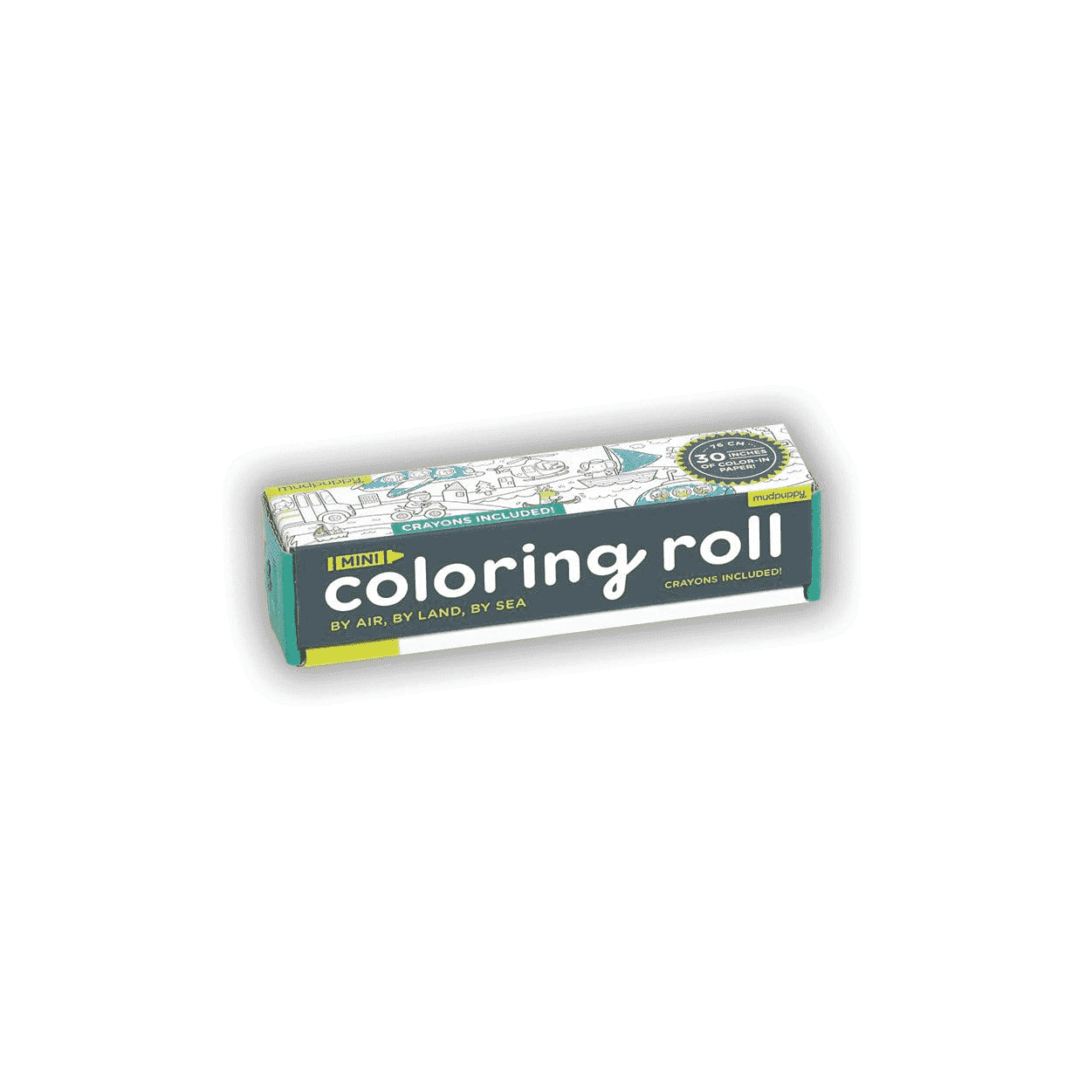 By Air, By Land, By Sea Mini Coloring Roll Coloring Rolls Mudpuppy