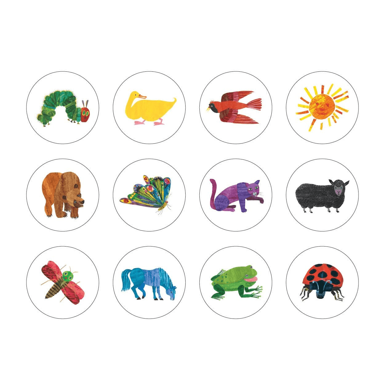 The World Of Eric Carle The Very Hungry Caterpillar And Friends Mini Memory Match Game Mini Memory Match Mudpuppy