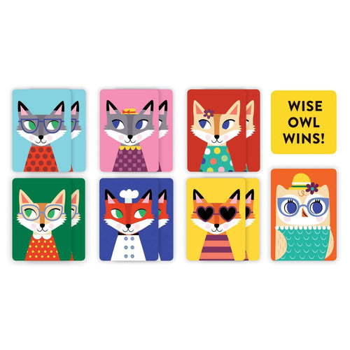 Wise Owl Playing Cards To Go Playing Cards Mudpuppy