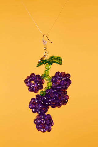Grape Slushie Earrings