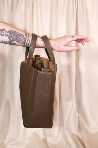 Bone Bag - Olive Bronze