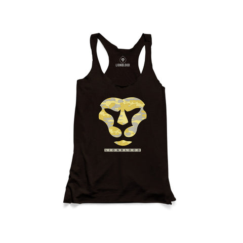 Camouflage Lionblood Lion Yellow face tank king of the jungle