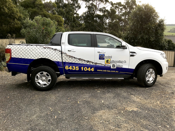 Car Wrap for Coastal Engineering and Belting