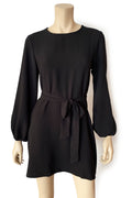 Alexia Shift Dress - Black