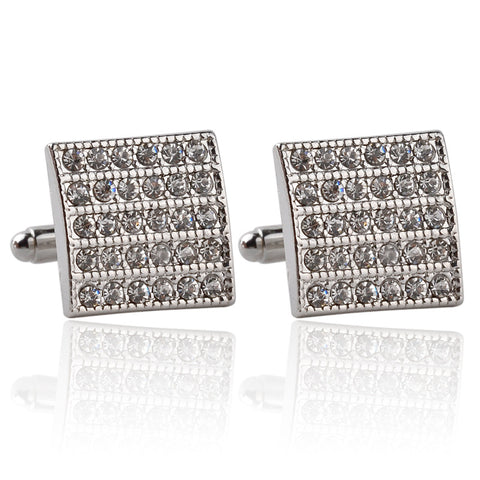 Square Shimmer Classic Cufflinks