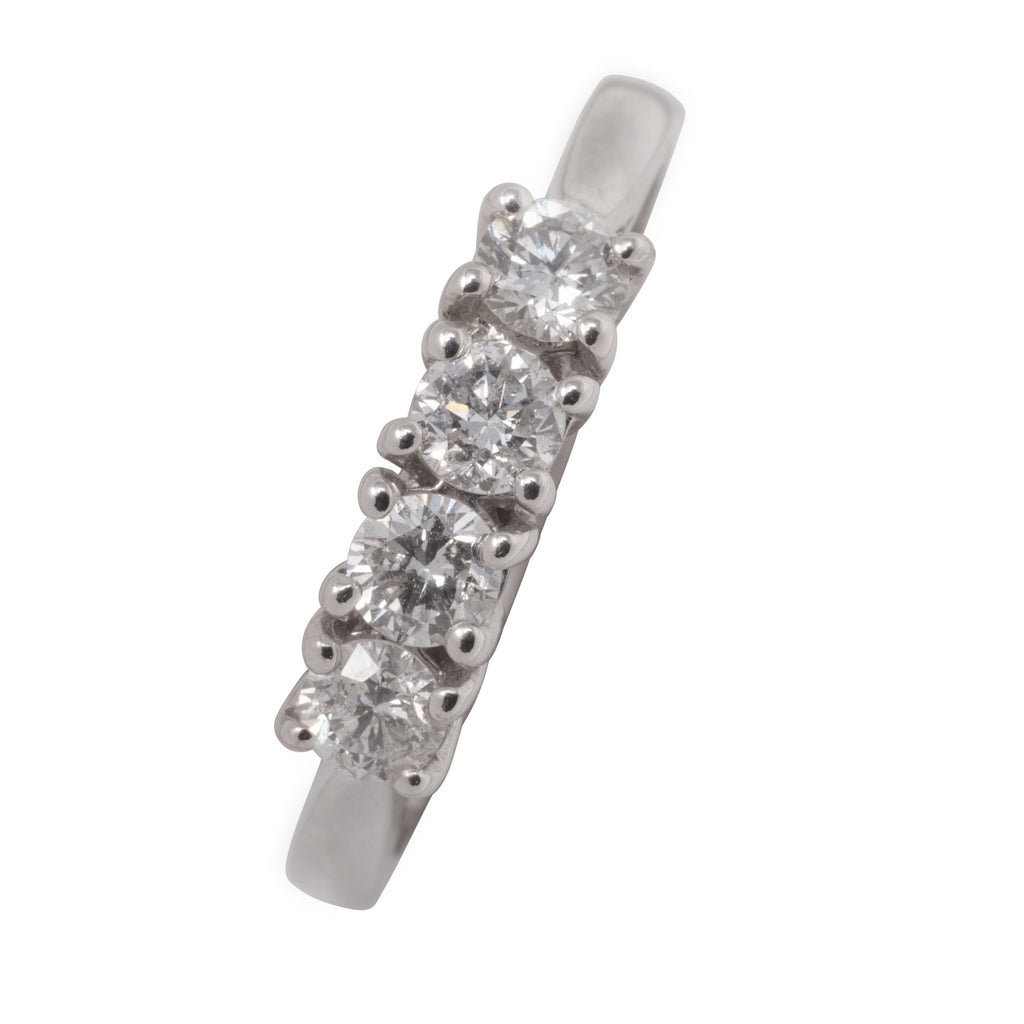18CT 4 STONE DIAMOND RING