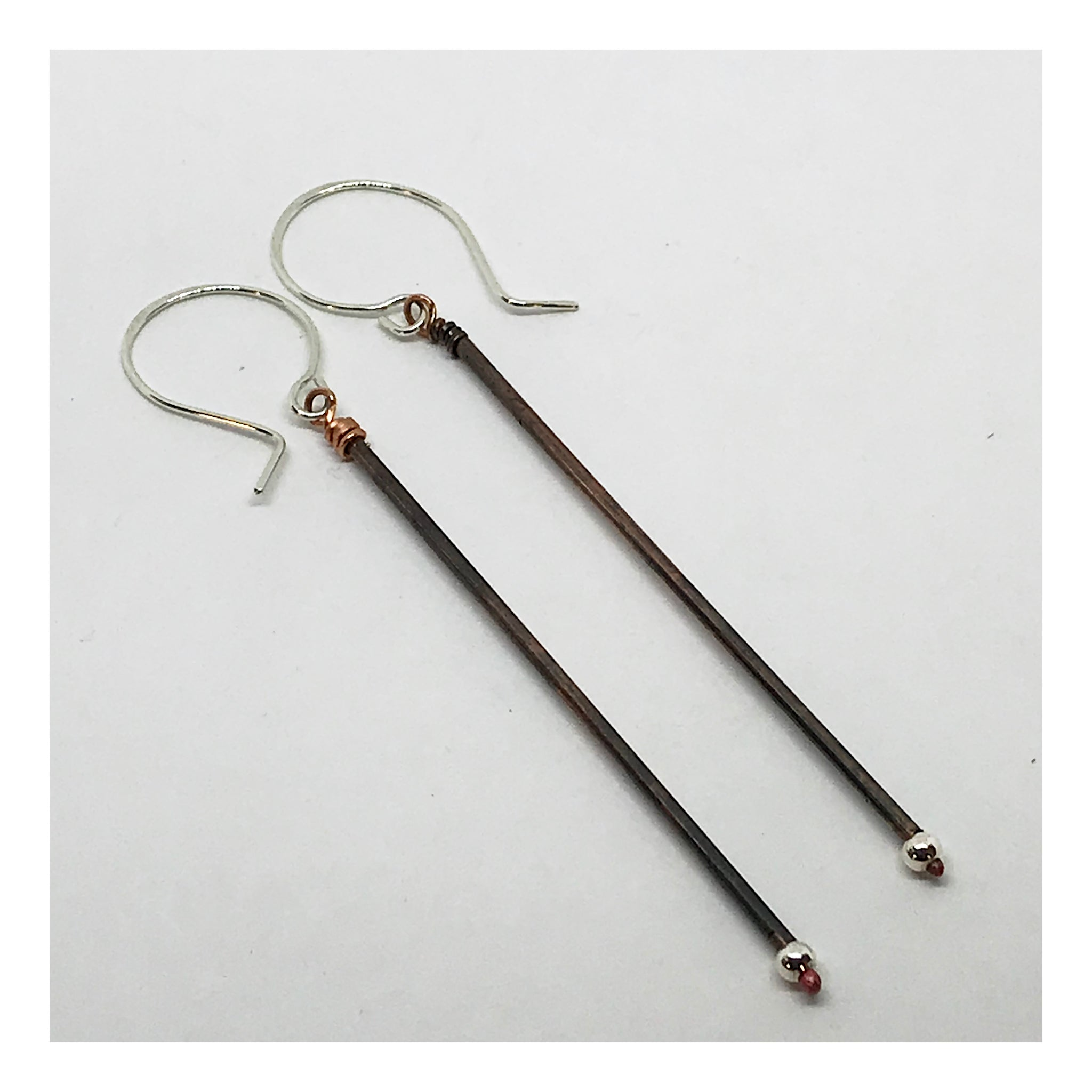 Extra Long Minimalist Earrings
