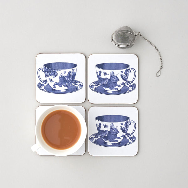 Teacup Coaster Set of Four