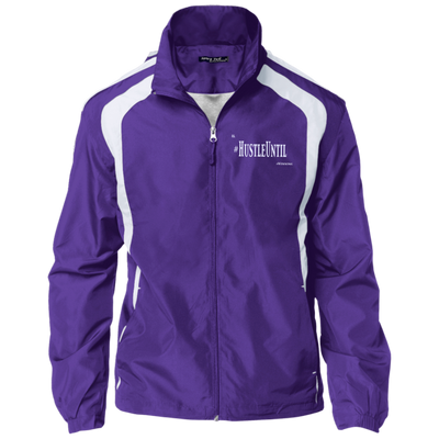 Hustle Until - Sport-Tek Tall Jersey-Lined Jacket