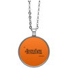 HUSTLE UNTIL - Circle Necklace