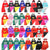 Marvel DC Superhero or Princess CAPE & MASK Set Kids Costume
