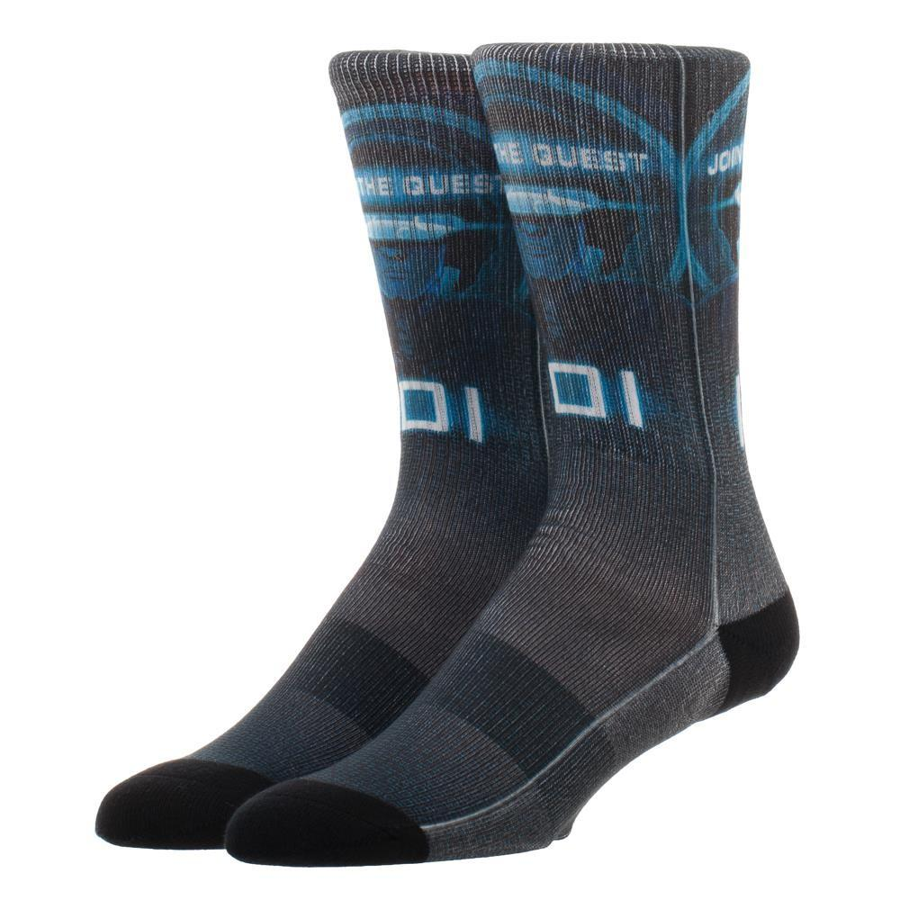 Ready Player One IOI Crew Sock, Innovative Online Industries Printed Logo Socks for Gamers