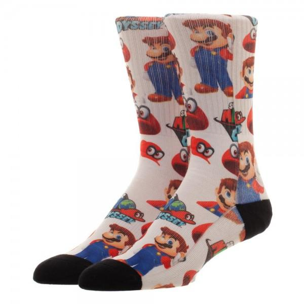 Mariodyssey Low Moq Mens Socks