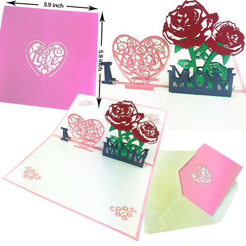 3D Pop Up Mothers Day Card | Handmade Gift