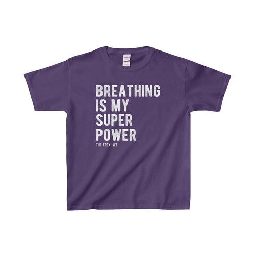 Breathing Is My Superpower - Youth T-Shirt