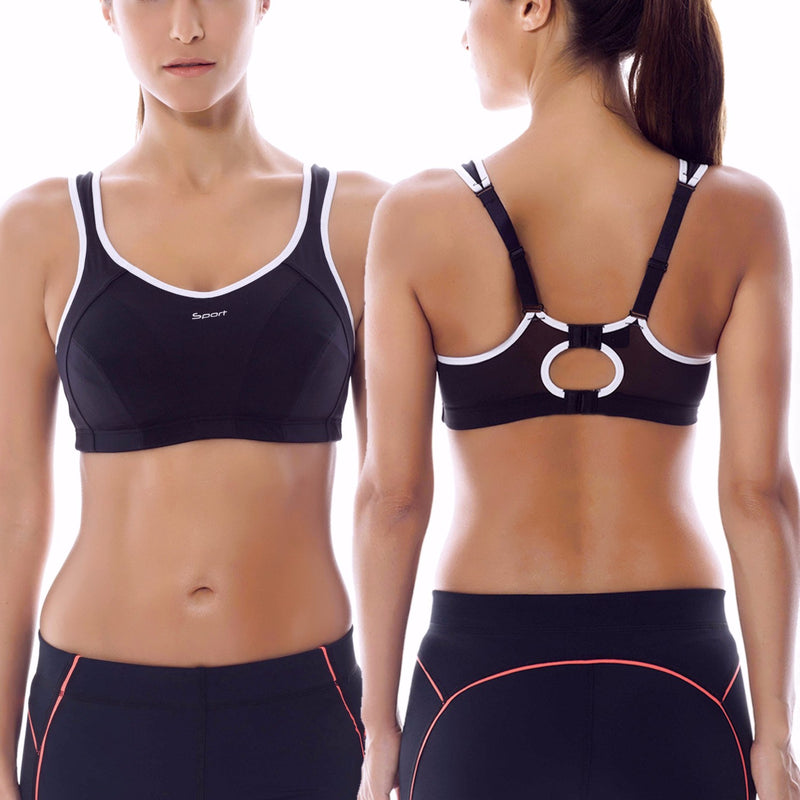 Take On Me (32B - 40B) Racerback Sports Bra - Echo90210