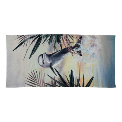 Dolphin Beach Towel-Accessories-Molo-One size-kids atelier