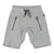 MOLO Gray Ashtonshort Melange Soft Shorts