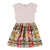 MOLO Pink Carla Plaid Flowers Sleeveless Dress