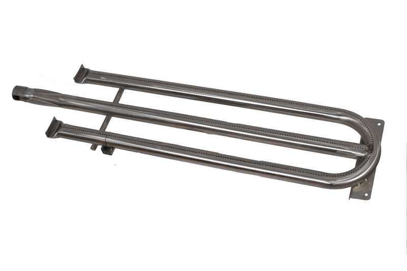 Tucker Horizon Burner Stainless Steel Rear