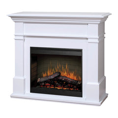 Dimplex Kenton 2kw White Mantle with LED Firebox