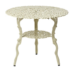 Melton Craft 82cm Round Cast Aluminium Table, Furniture, Melton Craft