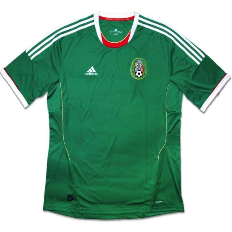 Jerseys / Soccer: Adidas National Team 2011 Mexico (H) S/s V12653 - Adidas / Xl / Green / 2011 Adidas Clothing Green Home Kit |