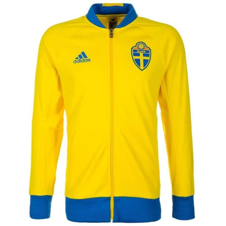 Jackets / Track: Adidas National Team 2016 Sweden Anthem Jacket Ai4509 - Adidas / S / Yellow / 2016 Adidas Clothing Jackets Jackets / Track
