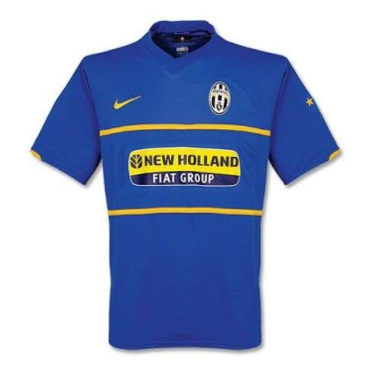 Jerseys / Soccer: Nike Juventus 07/08 (A) S/s Jersey - Nike / L / Blue / 0708 Away Kit Blue Clothing Football | Ochk-Sfalo-Ssita01070A-L