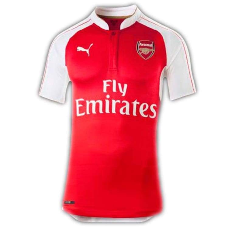 Jerseys / Soccer: Puma Arsenal Player Performance Actv 15/16 (H) S/s 747564-01 - Puma / M / Red / 1516 Arsenal Clothing Football Jerseys |