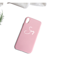 Personalized Name iPhone Case - Pink / iPhone 6 - iPhone Case