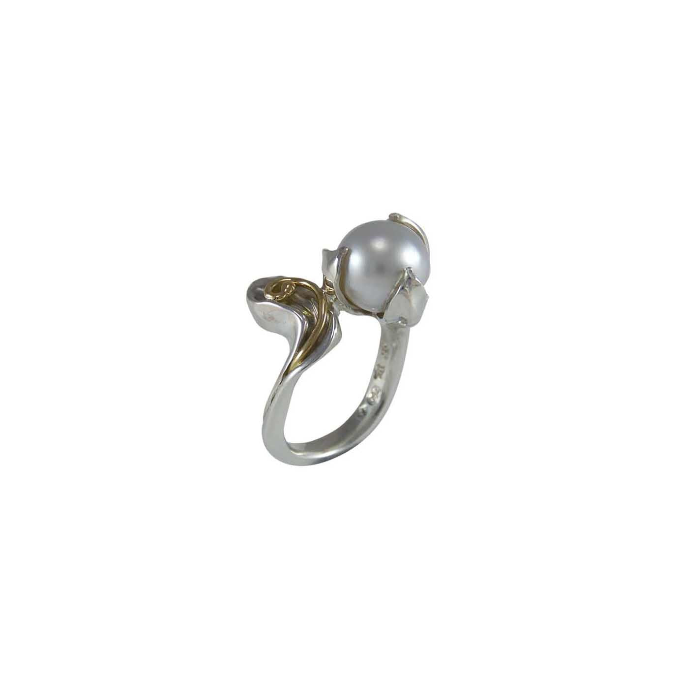 "Australian South Sea Pearl ""Lily ""Ring"