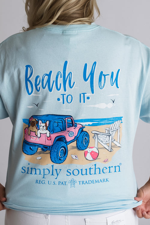 Simply Southern Beach You To It Tee