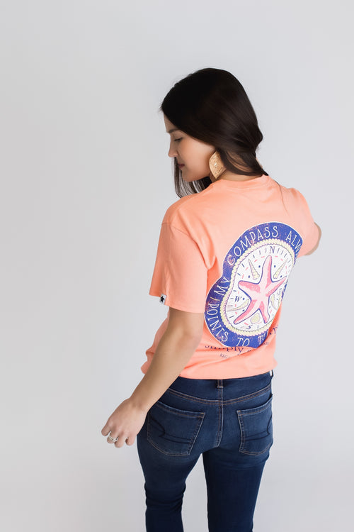Simply Southern Compass Tee