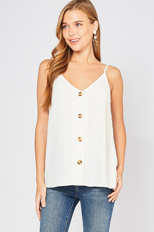 Whitley Button-Up Tank